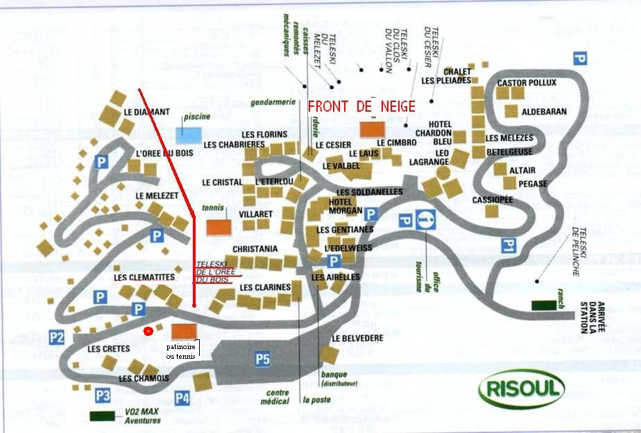Risoul Location Appartement