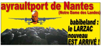 ayraultport de Nantes : le larzac nouveau est arrivé !