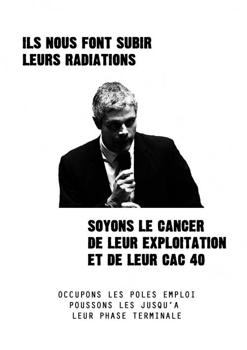 Occupation Pôle Emploi Rennes. RDV mardi 7 février METRO REPUBLIQUE A 9h30