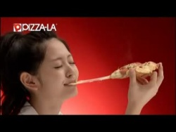 Nouvelle publicité PIZZA-LA pour Airi